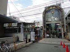 伏見桃山駅のエリア情報1