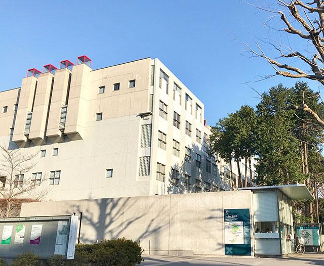 慶應義塾大学 日吉キャンパス写真
