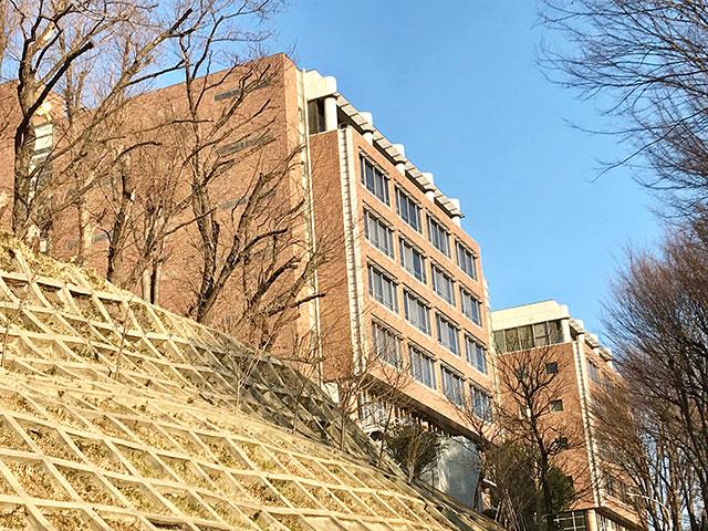 慶應義塾大学 矢上キャンパス写真
