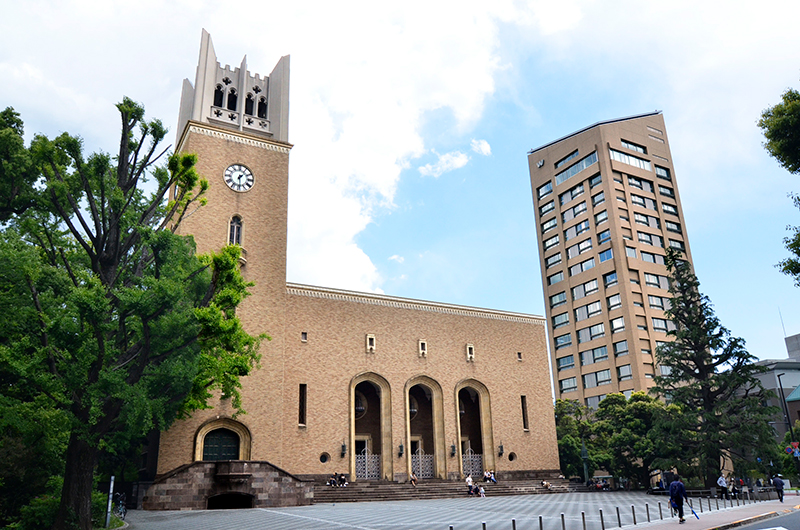 早稲田大学 早稲田キャンパス写真