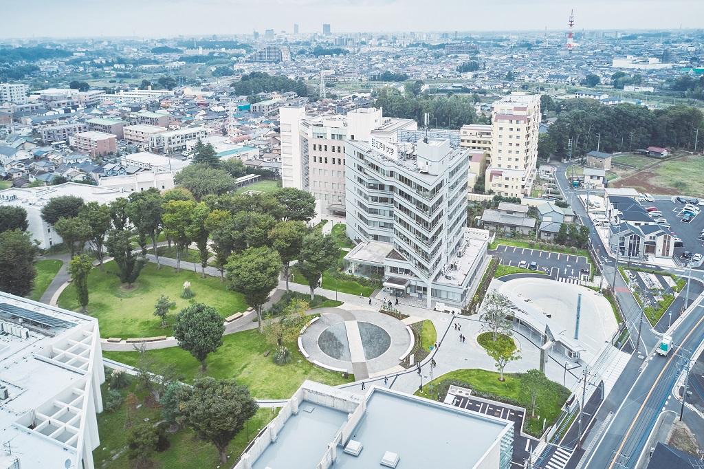 江戸川大学 写真